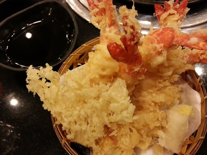 Ebi Tempura - the best ebi I've ever tasted. Not too oily and very crispy. Plus points for the well cooked and big shrimps.