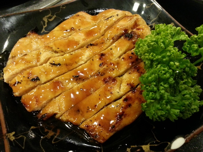 Chicken Teriyaki - It is tender and cooked just right. It is not saucy like the other teriyaki we tasted but there's an option to get a separate sauce.