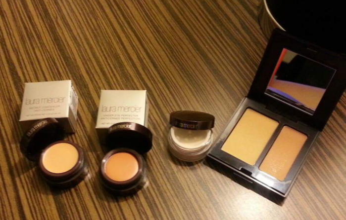 Laura Mercier Face Concealer, Eye Concealer, Eye Corrector and Brightening Powder