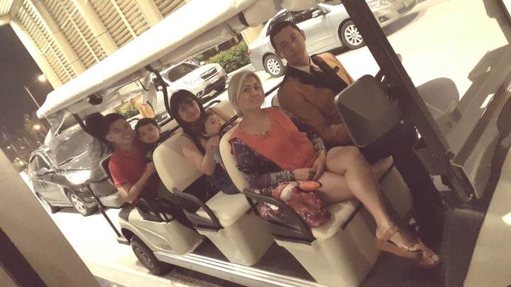 Buggy Cart to Crown Towers Manila