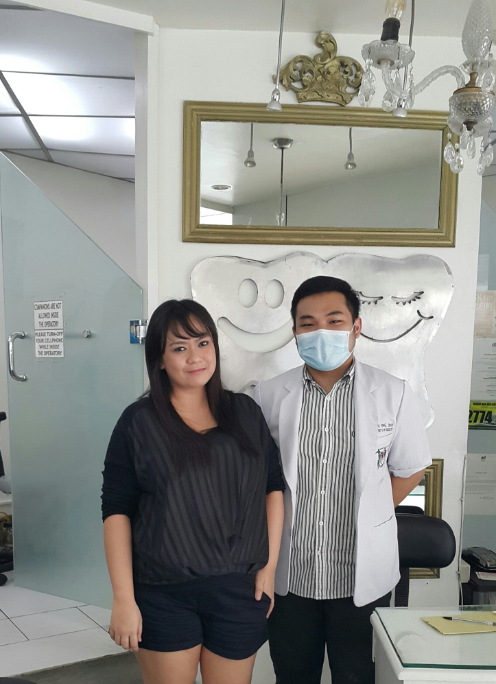 with Dr Ong and his mask! 😅
